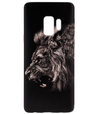 ADEL Siliconen Back Cover Softcase Hoesje voor Samsung Galaxy S9 - Leeuw