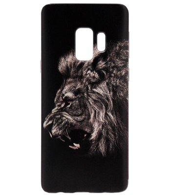 ADEL Siliconen Back Cover Softcase Hoesje voor Samsung Galaxy S9 Plus - Leeuw