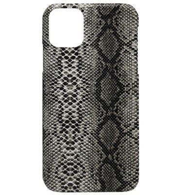 ADEL Kunststof Back Cover Hardcase hoesje voor iPhone 11 - Slangen Zwart