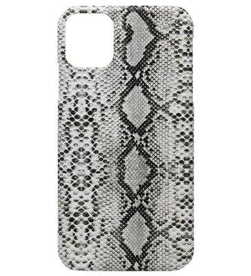 ADEL Kunststof Back Cover Hardcase hoesje voor iPhone 11 Pro Max - Slangen Wit