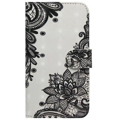 ADEL Kunstleren Book Case Hoesje voor Samsung Galaxy S10e - Mandala Bloemen
