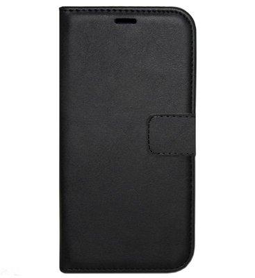 ADEL Kunstleren Book Case Hoesje voor Samsung Galaxy S10e - Zwart