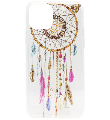 ADEL Siliconen Back Cover Softcase hoesje voor iPhone 11 Pro - Dromenvanger