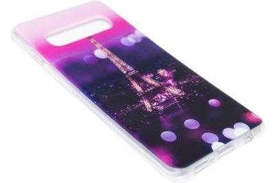 Parijs Eiffeltoren siliconen hoesje Samsung Galaxy S10