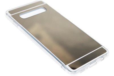 Goud spiegel hoesje Samsung Galaxy S10
