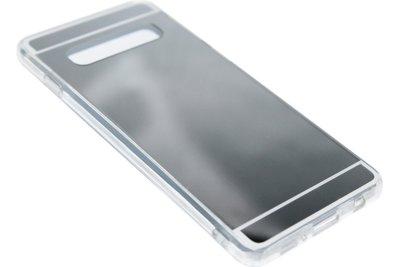Zilver spiegel hoesje Samsung Galaxy S10
