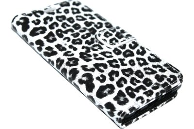 Wit luipaard hoesje Samsung Galaxy S10