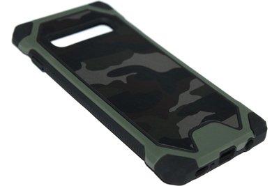 Camouflage hoesje groen Samsung Galaxy S10