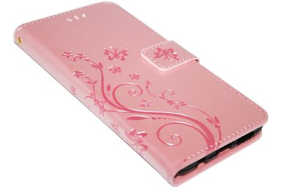 Roze vlinder hoesje Samsung Galaxy S10