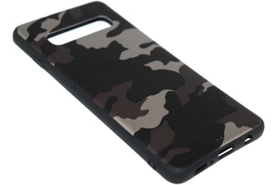 Bruine camouflage back cover Samsung Galaxy S10e