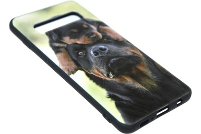Honden Rottweiler hoesje Samsung Galaxy S10e
