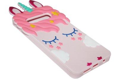 Roze eenhoorn hoesje Samsung Galaxy S10e
