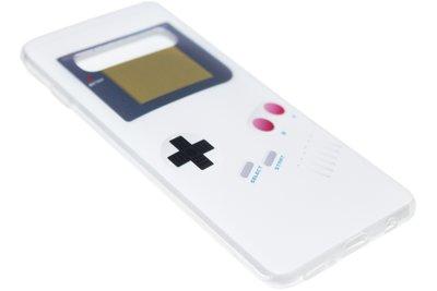 Gameboy siliconen hoesje Samsung Galaxy S10