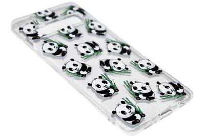 Panda siliconen hoesje Samsung Galaxy S10