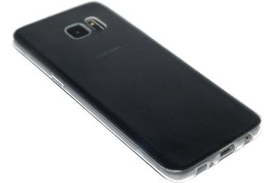 Doorzichtig siliconen hoesje Samsung Galaxy S7 Edge
