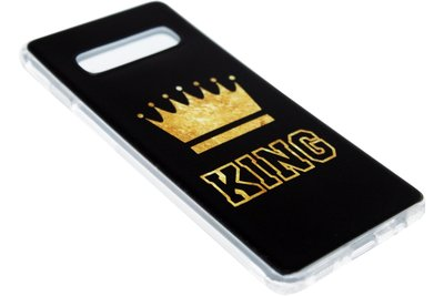 ADEL Siliconen Back Cover Hoesje voor Samsung Galaxy S10 - King