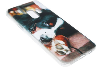 ADEL Siliconen Back Cover Hoesje voor Samsung Galaxy S9 - Berner Sennenhond