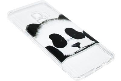 ADEL Siliconen Back Cover Hoesje voor Samsung Galaxy S9 Plus - Panda