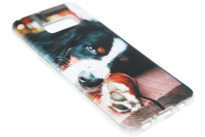 ADEL Siliconen Softcase Back Cover Hoesje voor Samsung Galaxy S8 Plus - Berner Sennenhond