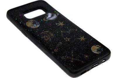 ADEL Siliconen Softcase Back Cover Hoesje voor Samsung Galaxy S8 Plus - Universum Heelal