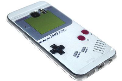 Gameboy siliconen hoesje Samsung Galaxy S7 Edge