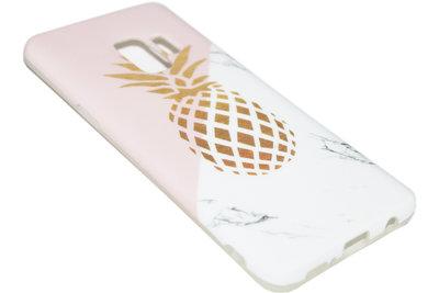Gouden ananas hoesje Samsung Galaxy S9 Plus