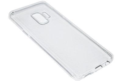 Doorzichtig transparant siliconen hoesje Samsung Galaxy S9 Plus