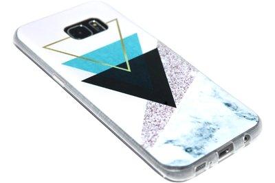 Geometrisch vormen hoesje Samsung Galaxy S7 Edge