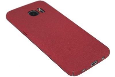 Bruin kunststof hoesje Samsung Galaxy S7 Edge