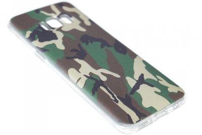 Camouflage hoesje siliconen Samsung Galaxy S8 Plus
