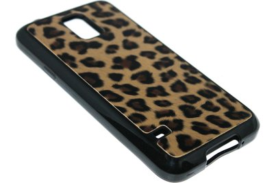 Luipaard back cover bruin Samsung Galaxy S5 (Plus) / Neo