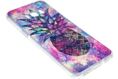 Ananas hoesje kleur siliconen Samsung Galaxy S8 Plus