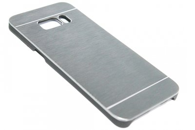Aluminium hoesje zilver Samsung Galaxy S8 Plus