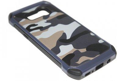 Camouflage hoesje blauw Samsung Galaxy S8 Plus