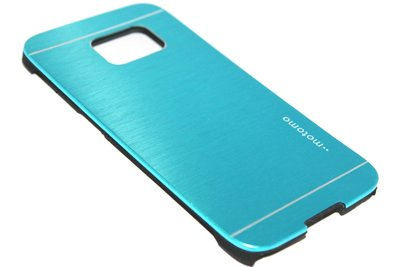 Aluminium hoesje lichtblauw Samsung Galaxy S6 Edge