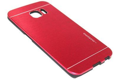 Aluminium hoesje rood Samsung Galaxy S6 Edge