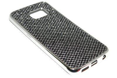 Bling bling hoesje zwart Samsung Galaxy S6 Edge