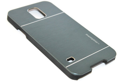 Aluminium hoesje donkerblauw Samsung Galaxy S5 (Plus) / Neo