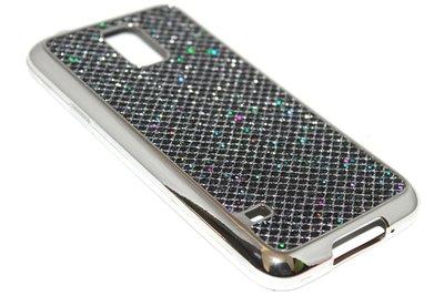 Bling bling hoesje zwart Samsung Galaxy S5 (Plus) / Neo