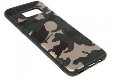 Camouflage hoesje groen Samsung Galaxy S8 Plus