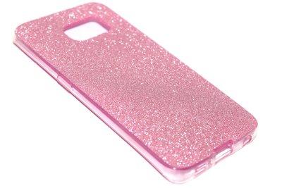 Bling hoesje roze Samsung Galaxy S6 Edge