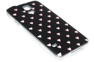 Kleine hartjes hoesje Samsung Galaxy S5 (Plus) / Neo