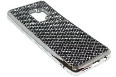Bling bling hoesje zwart Samsung Galaxy S9 Plus