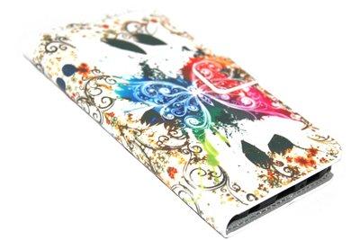 Kleurrijk bloemen hoesje Samsung Galaxy S6 Edge