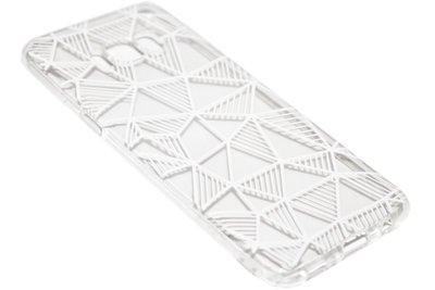 Driehoeken hoesje Samsung Galaxy S8 Plus