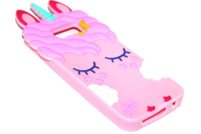 Eenhoorn hoesje roze Samsung Galaxy S8 Plus