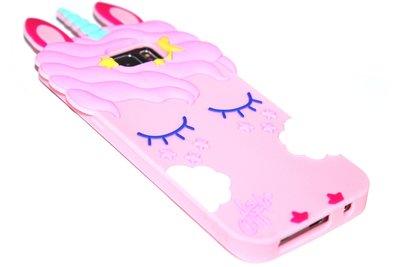 Eenhoorn hoesje roze Samsung Galaxy S7 Edge