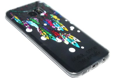 Dromenvanger hoesje siliconen Samsung Galaxy S7 Edge