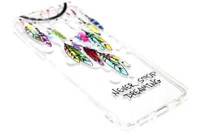 Dromenvanger hoesje kleur siliconen Samsung Galaxy S9