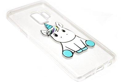 Eenhoorn hoesje siliconen Samsung Galaxy S9